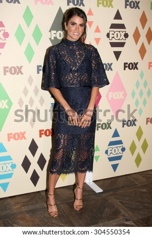 LOS ANGELES - AUG 6:  Nikki Reed at the FOX Summer TCA All-Star Party 2015 at the Soho House on August 6, 2015 in West Hollywood, CA - stock photo
