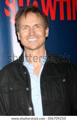 LOS ANGELES - AUG 10:  Phil Keoghan at the CBS TCA Summer 2015 Party at the Pacific Design Center on August 10, 2015 in West Hollywood, CA - stock photo