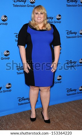 LOS ANGELES - AUG 04:  Rebel Wilson arrives to ABC All Star Summer TCA Party 2013  on August 04, 2013 in Beverly Hills, CA