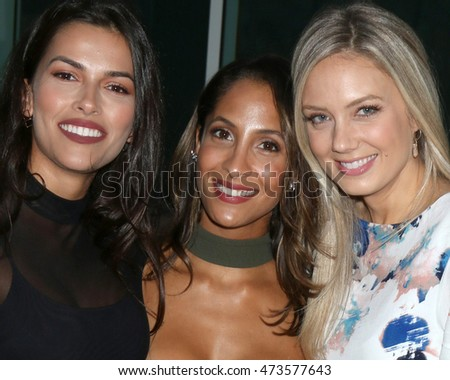 LOS ANGELES - AUG 24:  Sofia Pernas, Christel Khalil, Melissa Ordway at the Daytime TV Celebrates Emmy Season  at the Television Academy - Saban Media Center on August 24, 2016 in North Hollywood, CA