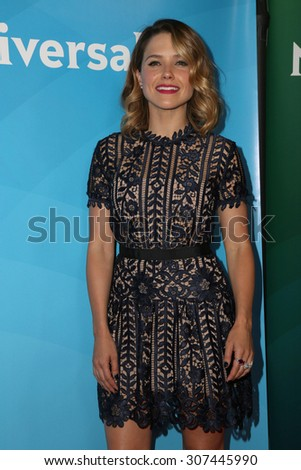 LOS ANGELES - AUG 13:  Sophia Bush at the NBCUniversal 2015 TCA Summer Press Tour at the Beverly Hilton Hotel on August 13, 2015 in Beverly Hills, CA - stock photo
