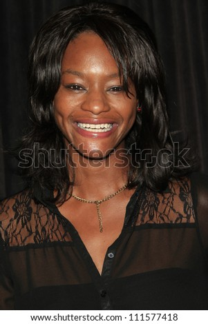 LOS ANGELES - AUG 28: Sufe Bradshaw at the premiere of GoDigital's 'You, Me & The Circus' at SupperClub in Hollywood on August 28, 2012 in Los Angeles, California - stock photo