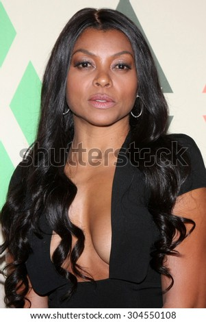 LOS ANGELES - AUG 6:  Taraji P Henson at the FOX Summer TCA All-Star Party 2015 at the Soho House on August 6, 2015 in West Hollywood, CA - stock photo