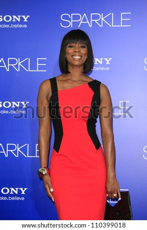 LOS ANGELES - AUG 16: Tasha Smith at the Los Angeles Premiere of 'Sparkle' at Grauman's Chinese Theater on August 16, 2012 in Los Angeles, California - stock photo