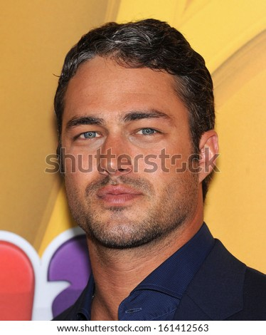 LOS ANGELES - AUG 27:  Taylor Kinney arrives to NBC All Star Summer TCA Party 2013  on July 27, 2013 in Beverly Hills, CA