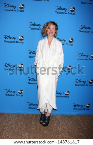 LOS ANGELES - AUG 4:  Tessa Ferrer arrives at the ABC Summer 2013 TCA Party at the Beverly Hilton Hotel on August 4, 2013 in Beverly Hills, CA