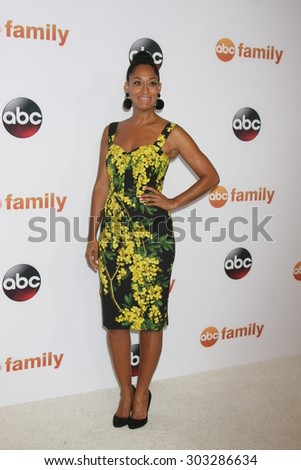 LOS ANGELES - AUG 4:  Tracee Ellis Ross at the ABC TCA Summer Press Tour 2015 Party at the Beverly Hilton Hotel on August 4, 2015 in Beverly Hills, CA - stock photo