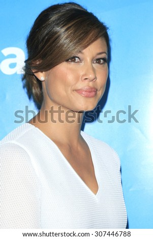 LOS ANGELES - AUG 13:  Vanessa Lachey at the NBCUniversal 2015 TCA Summer Press Tour at the Beverly Hilton Hotel on August 13, 2015 in Beverly Hills, CA - stock photo