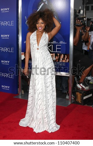 "Los Angeles - AUG 16:  Wendy Raquel Robinson arrives at the ""Sparkle""  Premiere at Graumans Chinese Theater on August 16, 2012 in Los Angeles, CA"