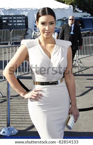 LOS ANGELES - AUGUST 14: Kim Kardashian at the 2011 VH1 Do Something Awards at the Hollywood Palladium on August 14, 2011 in Hollywood, Los Angeles, California. - stock photo