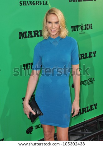 LOS ANGELES, CA - APRIL 17, 2012: Kelly Lynch at the Los Angeles premiere of Marley at the Cinerama Dome, Hollywood. April 17, 2012  Los Angeles, CA - stock photo