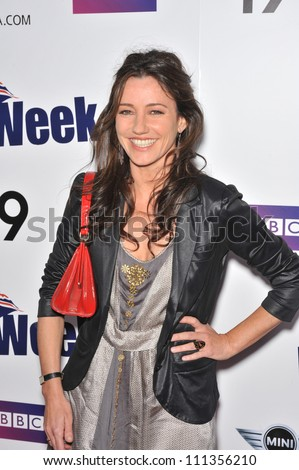 LOS ANGELES, CA - APRIL 23, 2009: Mistresses star Orla Brady at the launch of BritWeek in Los Angeles