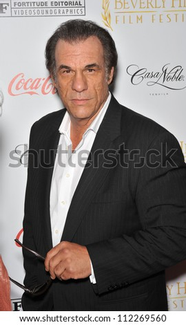 LOS ANGELES, CA - APRIL 1, 2009: Robert Davi at the opening of the Beverly Hills Film Festival at the Clarity Theatre, Beverly Hills.