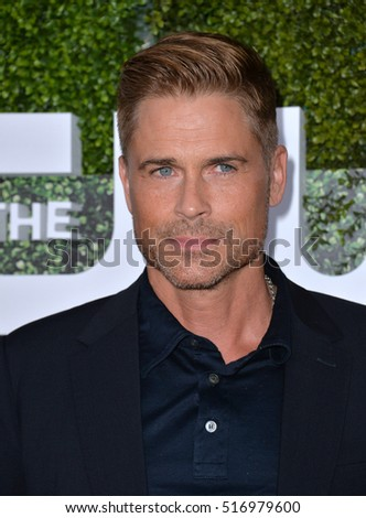 LOS ANGELES, CA. August 10, 2016: Actor Rob Lowe at the CBS & Showtime Annual Summer TCA Party with the Stars at the Pacific Design Centre, West Hollywood.
