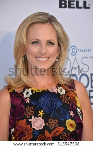 LOS ANGELES, CA. August 27, 2016: Actress Marlee Matlin at the Comedy Central Roast of Rob Lowe at Sony Studios, Culver City.