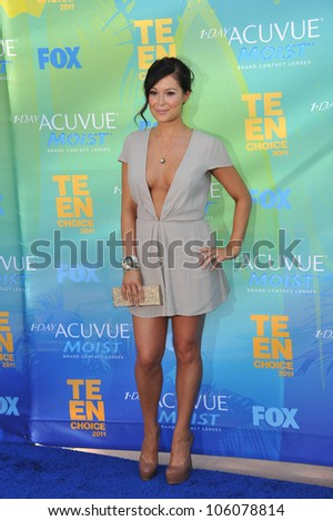 LOS ANGELES, CA - AUGUST 7, 2011: Alexa Vega arrives at the 2011 Teen Choice Awards at the Gibson Amphitheatre, Universal Studios, Hollywood. August 7, 2011  Los Angeles, CA