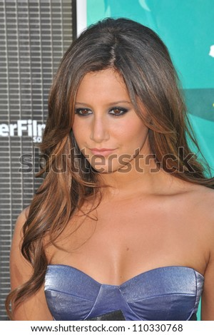 LOS ANGELES, CA - AUGUST 9, 2009: Ashley Tisdale at the 2009 Teen Choice Awards at the Gibson Amphitheatre, Universal City.