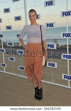 "LOS ANGELES, CA - AUGUST 5, 2011: ""Glee"" star Heather Morris at the Fox TV Summer 2011 All-Star Party at Gladstones Restaurant, Malibu. August 5, 2011  Malibu, CA - stock photo"