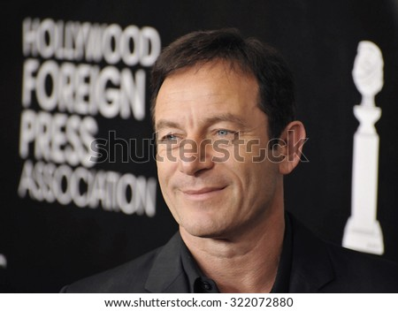 LOS ANGELES, CA - AUGUST 13, 2015: Jason Isaacs at the Hollywood Foreign Press Association's Grants Banquet at the Beverly Wilshire Hotel.  - stock photo