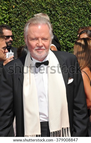 LOS ANGELES, CA - AUGUST 16, 2014: Jon Voight at the 2014 Creative Arts Emmy Awards at the Nokia Theatre LA Live.