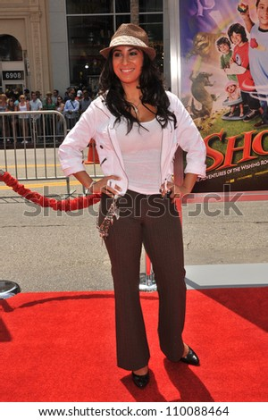 "LOS ANGELES, CA - AUGUST 15, 2009: Liana Mendoza at the Los Angeles premiere of ""Shorts"" at Grauman's Chinese Theatre, Hollywood."