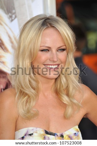 "LOS ANGELES, CA - AUGUST 23, 2010: Malin Akerman at the Los Angeles premiere of ""Going the Distance"" at Grauman's Chinese Theatre, Hollywood."