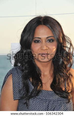 LOS ANGELES, CA - AUGUST 5, 2011: Parminder Nagra at the Fox TV Summer 2011 All-Star Party at Gladstones Restaurant, Malibu. August 5, 2011  Malibu, CA - stock photo