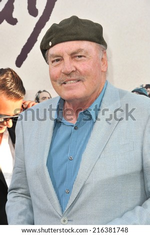 "LOS ANGELES, CA - AUGUST 20, 2014: Stacy Keach at the world premiere of his movie ""If I Stay"" at the TCL Chinese Theatre, Hollywood."