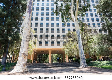 Ucla Building Stock Images, Royalty-Free Images & Vectors ...