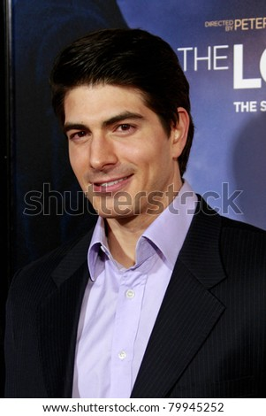 LOS ANGELES, CA - DEC 7: Brandon Routh at the premiere of 'The Lovely Bones' held at the Mann's Grauman Chinese Theater in Los Angeles, California on December 07, 2009 - stock photo