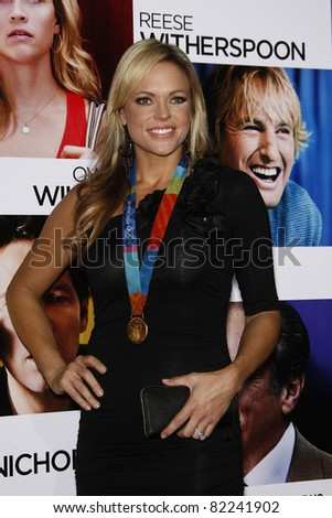 LOS ANGELES, CA - DEC 13: Jenny Finch at the world premiere of 'How Do You Know' held at the Regency Village Theater on December 13, 2010 in Los Angeles, California