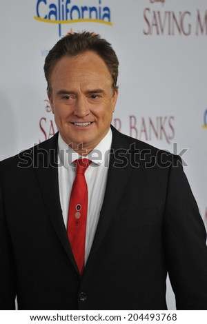 "LOS ANGELES, CA - DECEMBER 9, 2013: Bradley Whitford at the US premiere of his movie ""Saving Mr Banks"" at Walt Disney Studios, Burbank."