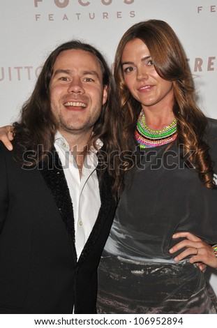 "LOS ANGELES, CA - DECEMBER 7, 2010: Chris Pontius & wife Claire Nolan at the Los Angeles premiere of his new movie ""Somewhere"" at the Arclight Theatre, Hollywood. December 7, 2010  Los Angeles, CA"