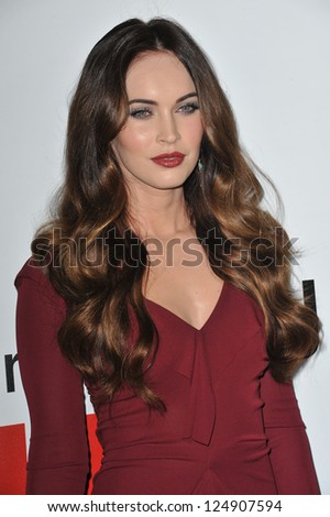 "LOS ANGELES, CA - DECEMBER 12, 2012: Megan Fox at the world premiere of her new movie ""This Is 40"" at Grauman's Chinese Theatre, Hollywood."