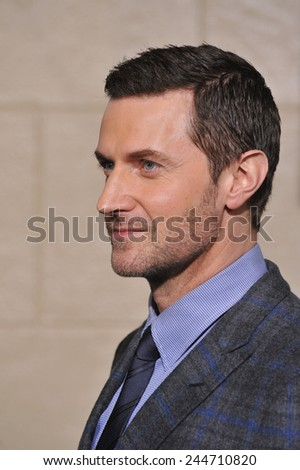 "LOS ANGELES, CA - DECEMBER 9, 2014: Richard Armitage at the Los Angeles premiere of his movie ""The Hobbit: The Battle of the Five Armies"" at the Dolby Theatre, Hollywood."
