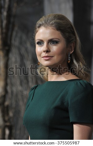 "LOS ANGELES, CA - DECEMBER 2, 2013: Rose McIver at the Los Angeles premiere of ""The Hobbit: The Desolation of Smaug"" at the Dolby Theatre, Hollywood."