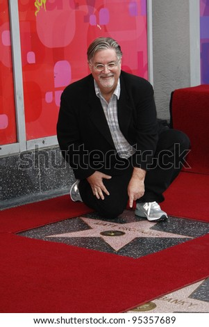 LOS ANGELES, CA - FEB 14: Matt Groening receives a star on the Hollywood Walk Of Fame on February 14, 2012 in Los Angeles, California