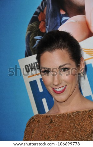 "LOS ANGELES, CA - FEBRUARY 23, 2011: Carly Craig at world premiere of ""Hall Pass"" at the Cinerama Dome, Hollywood. February 23, 2011  Los Angeles, CA - stock photo"