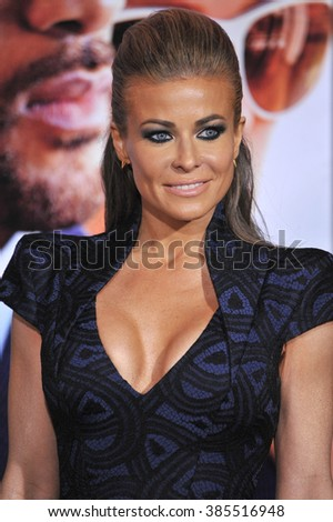 """LOS ANGELES, CA - FEBRUARY 24, 2015: Carmen Electra at the Los Angeles premiere of """"Focus"""" at the TCL Chinese Theatre, Hollywood. - stock photo"""