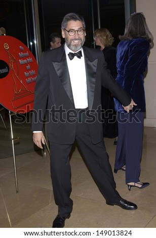 LOS ANGELES, CA - FEBRUARY 17, 2002: Director JOHN LANDIS at the 3rd Annual Hollywood Makeup Artists & Hair Stylists Awards.