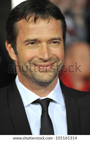 "LOS ANGELES, CA - FEBRUARY 22, 2012: James Purefoy at the world premiere of his new movie ""John Carter"" at the Regal Cinemas L.A. Live. February 22, 2012  Los Angeles, CA"