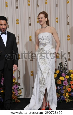 LOS ANGELES, CA - FEBRUARY 27, 2011: Nicole Kidman at the 83rd Academy Awards at the Kodak Theatre, Hollywood.