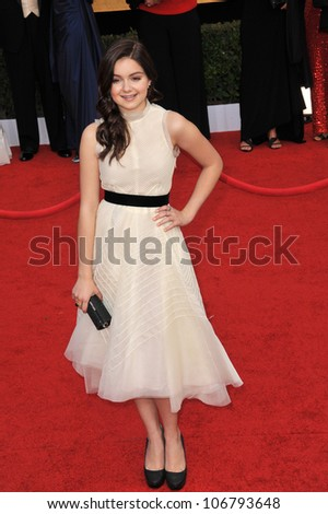 LOS ANGELES, CA - JANUARY 30, 2011: Ariel Winter at the 17th Annual Screen Actors Guild Awards at the Shrine Auditorium. January 30, 2011  Los Angeles, CA
