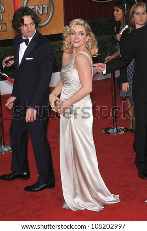 LOS ANGELES, CA - JANUARY 23, 2010: Jane Krakowski at the 16th Annual Screen Actors Guild Awards at the Shrine Auditorium.