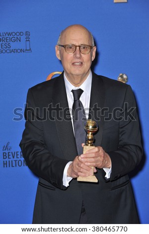 LOS ANGELES, CA - JANUARY 11, 2015: Jeffrey Tambor at the 72nd Annual Golden Globe Awards at the Beverly Hilton Hotel, Beverly Hills. - stock photo