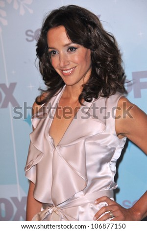 "LOS ANGELES, CA - JANUARY 11, 2011: Jennifer Beals, star of ""The Chicago Code"", at the Fox All-Star Party Winter 2011 in Pasadena. January 11, 2011  Pasadena, CA"
