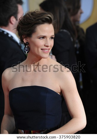 LOS ANGELES, CA - JANUARY 18, 2014: Jennifer Garner at the 20th Annual Screen Actors Guild Awards at the Shrine Auditorium.
