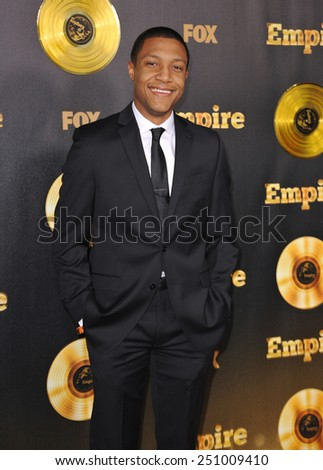 "LOS ANGELES, CA - JANUARY 6, 2015: Jerry MacKinnon at the premiere of Fox's new TV series ""Empire"" at the Cinerama Dome, Hollywood.  - stock photo"