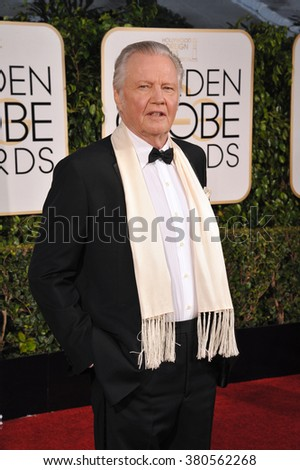 LOS ANGELES, CA - JANUARY 11, 2015: John Voight at the 72nd Annual Golden Globe Awards at the Beverly Hilton Hotel, Beverly Hills. - stock photo