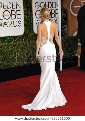 LOS ANGELES, CA - JANUARY 11, 2015: Kate Hudson at the 72nd Annual Golden Globe Awards at the Beverly Hilton Hotel, Beverly Hills. - stock photo